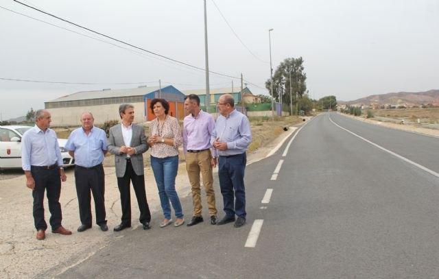 Fomento mejora la seguridad vial y el drenaje de cuatro carreteras que comunican Puerto Lumbreras con sus pedanías - 1, Foto 1