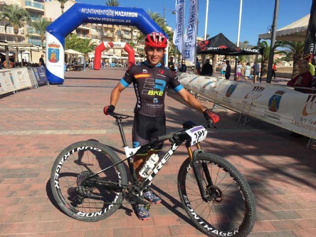 Ismael Sánchez se proclama campeón de la XXIV marcha MTB Bahía de Mazarrón, Foto 1