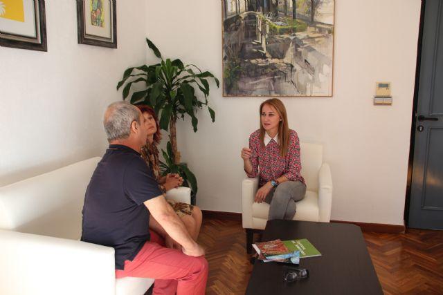 El Ayuntamiento de Alhama y ACUDE mantienen su colaboración para la conservación de espacios naturales, Foto 2