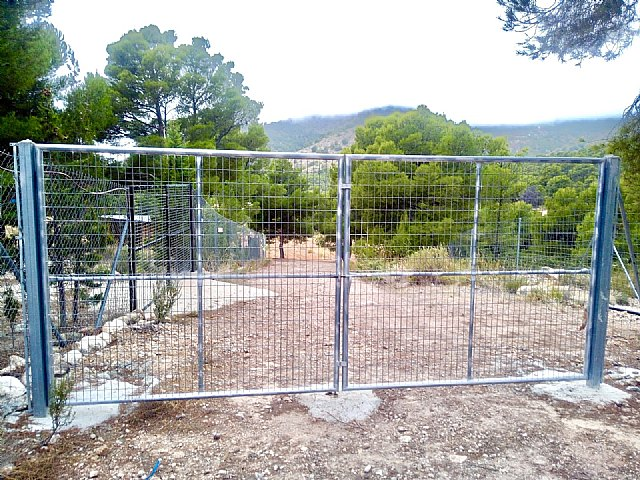 They denounce the usurpation of a livestock route in Purgatorio (Sierra Espuña)