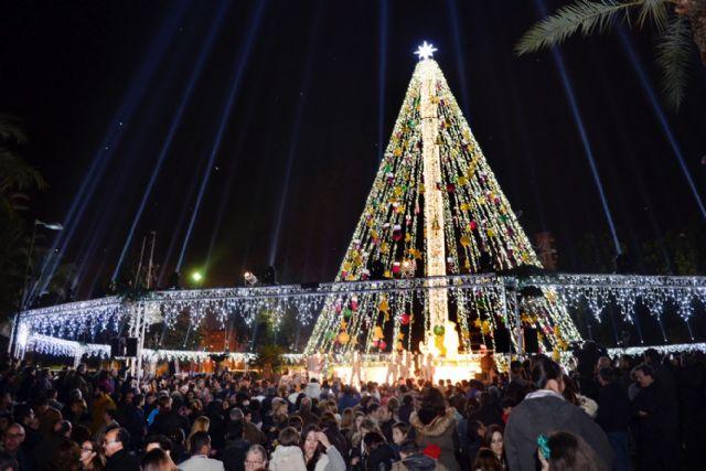 Los vídeos del encendido de la Navidad en Murcia superan más de 191.000 impresiones en redes sociales en menos de 24 horas - 1, Foto 1