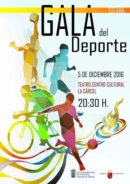 El Centro Sociocultural La Cárcel acoge mañana la Gala del Deporte de Totana, a partir de las 20:30 horas, con la entrega de 13 premios, Foto 1