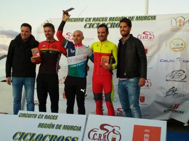 Fernando Cabrera, of the Cycling Club Santa Eulalia, 3rd in the Cyclocross of Mazarrón - 2
