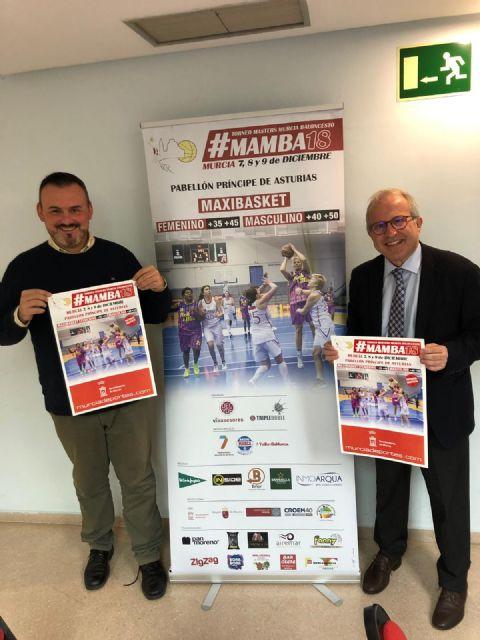 500 deportistas participarán en el Torneo Masters Murcia de baloncesto - 2, Foto 2