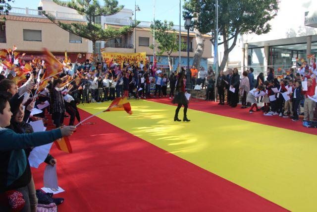 Los niños pinatarenses celebran el 40 aniversario de la Constitución Española - 1, Foto 1