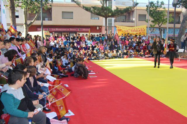 Los niños pinatarenses celebran el 40 aniversario de la Constitución Española - 2, Foto 2