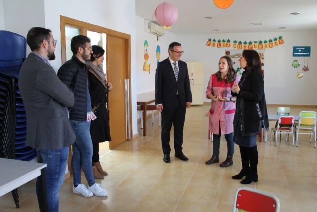 El Delegado del Gobierno en Murcia visita el Centro de Atención a la Infancia - 3, Foto 3