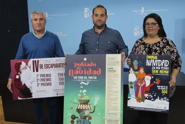 San Pedro del Pinatar incentiva las compras navideñas en el pequeño comercio con sorteos, concursos de escaparates y actividades infantiles - 1, Foto 1