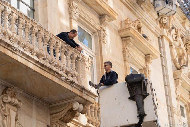 Cartagena y el Palacio Consistorial se iluminan para recibir a la Navidad - 1, Foto 1