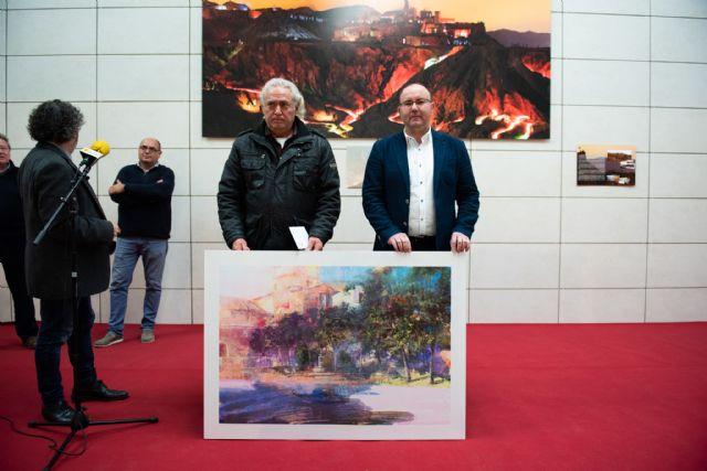 """Rafael Terrés gana el primer premio del certamen de pintura al aire libre """"Paisajes de Mazarrón"""", Foto 2"""