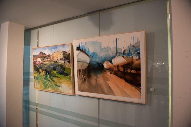 """Rafael Terrés gana el primer premio del certamen de pintura al aire libre """"Paisajes de Mazarrón"""", Foto 4"""