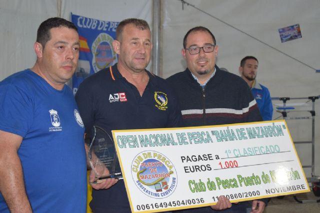 Ginés Jover del Club de Pesca El Marlin se impone en el XV Open Nacional de Pesca Bahía de Mazarrón´ - 2, Foto 2