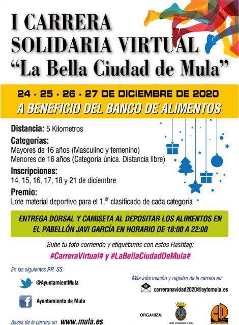 I Carrera solidaria virtual «La Bella Ciudad de Mula» - 1, Foto 1