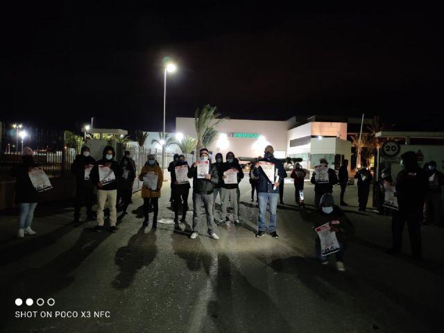 CCOO INDUSTRIA valora exitosamente la huelga agroalimentaria en la Regi�n de Murcia, Foto 3
