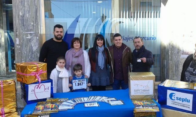 Los comercios lumbrerenses celebran el sorteo de la Campaña de Navidad 'Compra en Puerto Lumbreras' - 2, Foto 2