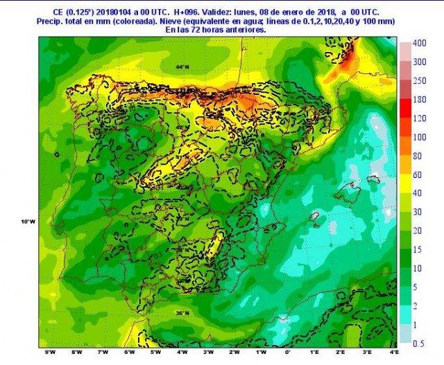 Protección Civil de Totana informa del tiempo invernal que tendremos durante los próximos días, Foto 3