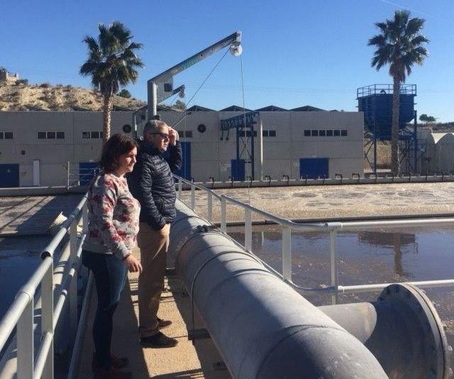 Obras de mejora en la Estación Depuradora de Aguas Residuales de Cieza - 1, Foto 1