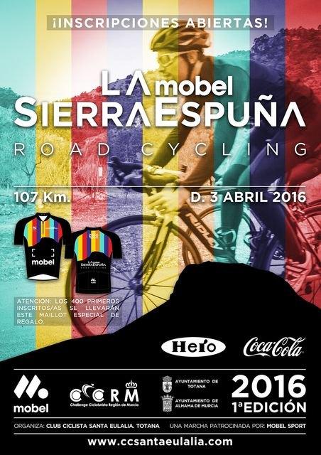 La I Marcha Cicloturista La Mobel Sierra Espuña se celebra este domingo, Foto 4