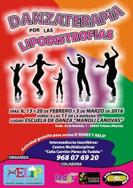 AELIP organiza la actividad Danzaterapia por las lipodistrofias., Foto 1