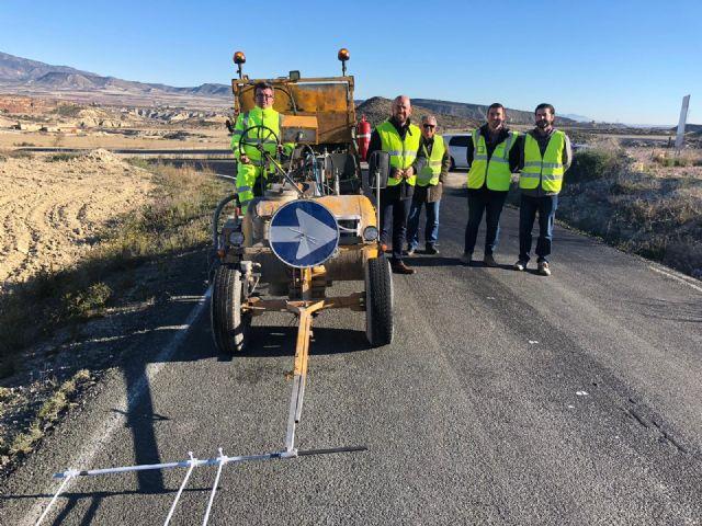 Restituidas las condiciones de seguridad de la carretera que conecta Librilla con la Puebla de Mula - 1, Foto 1