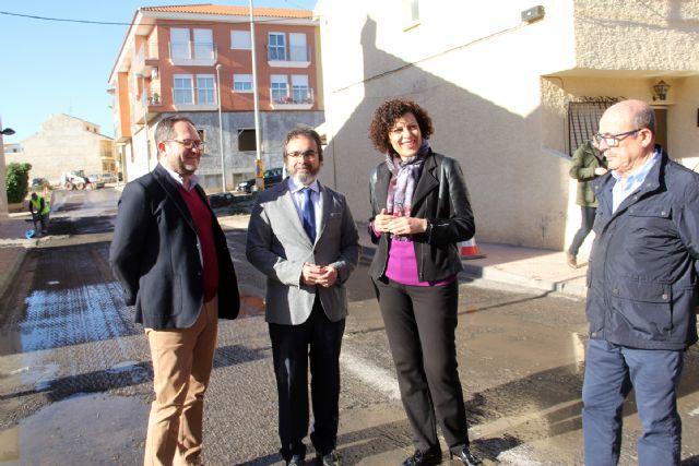 La Comunidad invertirá cerca de 300.000 euros en Puerto Lumbreras para asfaltar y mejorar 55 calles - 1, Foto 1