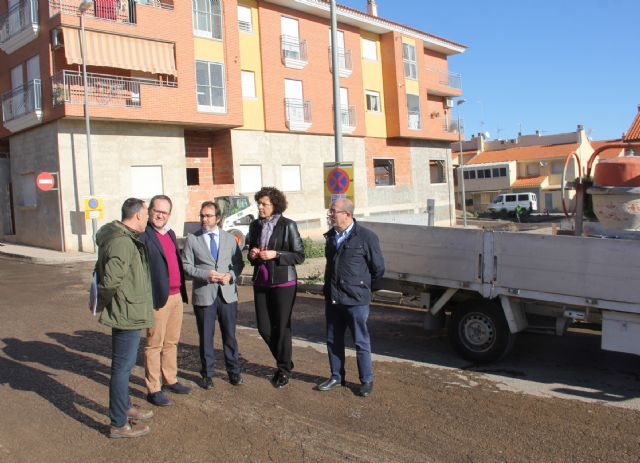 La Comunidad invertirá cerca de 300.000 euros en Puerto Lumbreras para asfaltar y mejorar 55 calles - 2, Foto 2