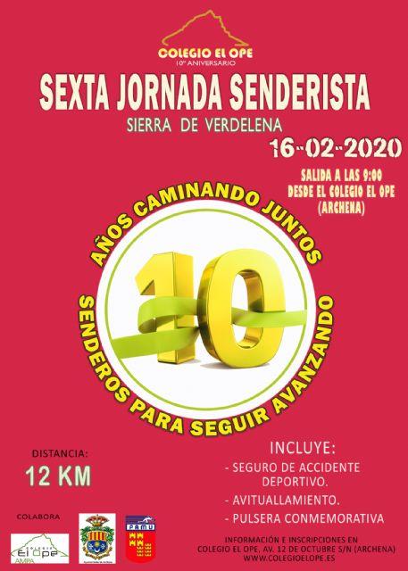 VI Jornada Senderismo Colegio El Ope - 1, Foto 1