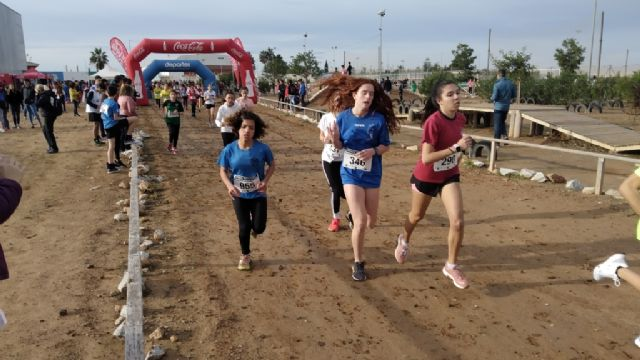 Veinti�n escolares totaneros participaron en la Final Regional de Campo a Trav�s de Deporte Escolar, en las categor�as infantil, cadete y juvenil, Foto 9