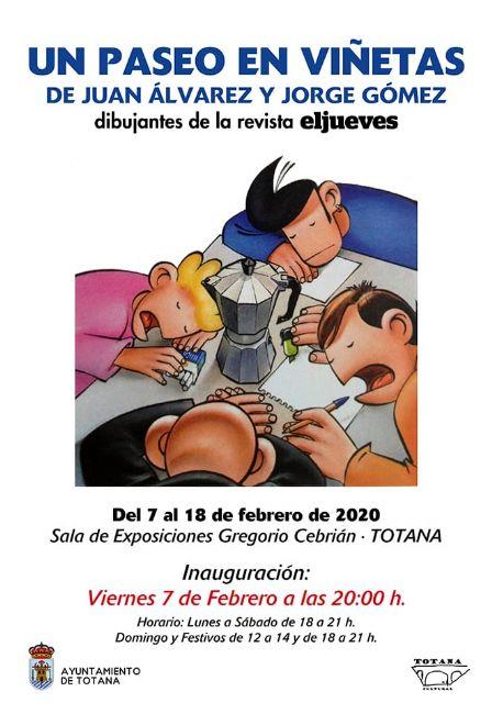 """La sala Gregorio Cebri�n"""" acoge, del 7 al 18 de febrero, la muestra """"Un paseo de viñetas"""", Foto 1"""
