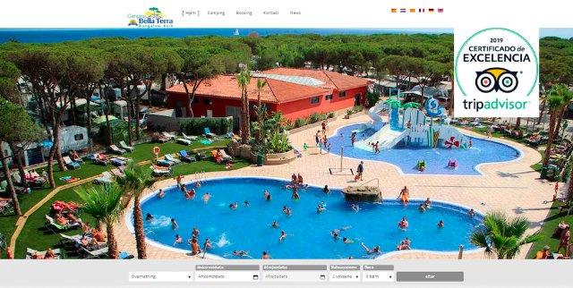 El portal web del Camping Bella Terra estrena su versión en danés - 1, Foto 1