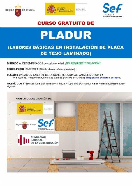 Curso gratuito de Pladur en la Fundación Laboral de la Construcción - 1, Foto 1