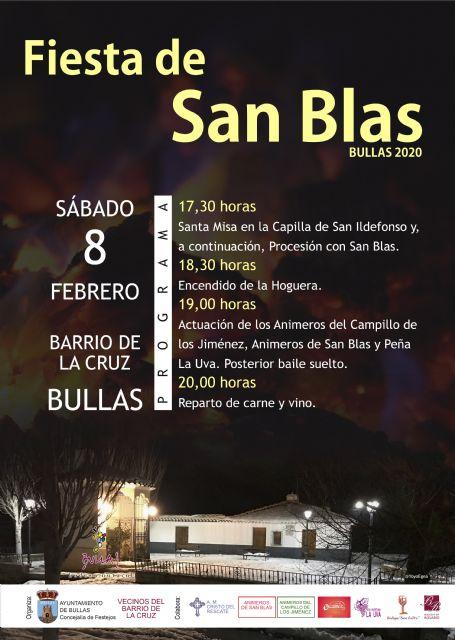 Fiestas de San Blas - Bullas 2020 - 1, Foto 1