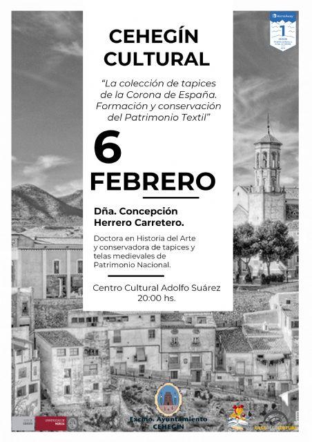 La profesora y conservadora del Patrimonio Nacional, Concepción Herrero, impartirá la segunda conferencia del Cehegín Cultural - 1, Foto 1