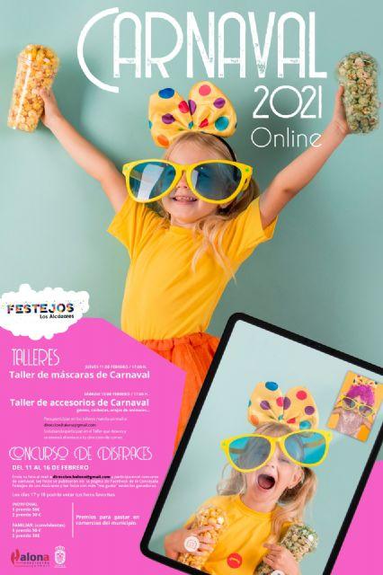 Los Alcázares celebrará un concurso online de disfraces para el carnaval 2021 - 1, Foto 1