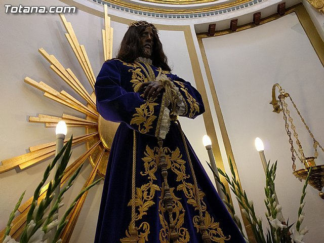Los vecinos de Totana mostraron su devoción al Cristo de Medinaceli y a Jesús Cautivo, Foto 1