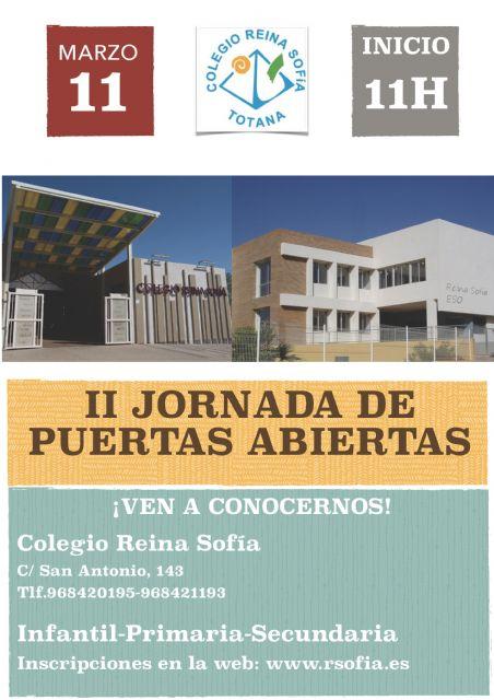 El Colegio Reina Sofía organiza la II jornada de puertas abiertas, que tendrá lugar mañana sábado 11 de marzo, Foto 1