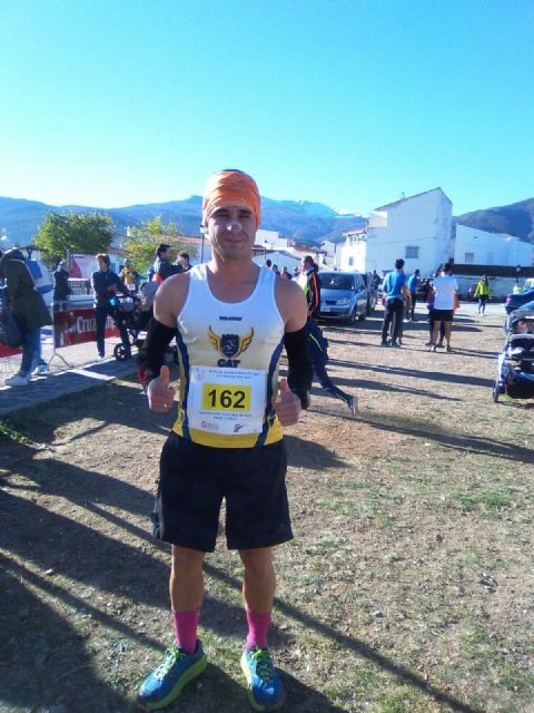 The athlete of the Totana Athletics Club Bartolomé Sánchez participated in the IX Rise to the Portazgo
