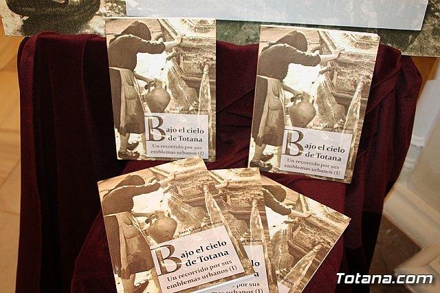 """El cronista oficial de la ciudad, Juan Cánovas Mulero, presenta su último libro """"Bajo el cielo de Totana. Un recorrido por sus espacios urbanos (I)"""", Foto 2"""