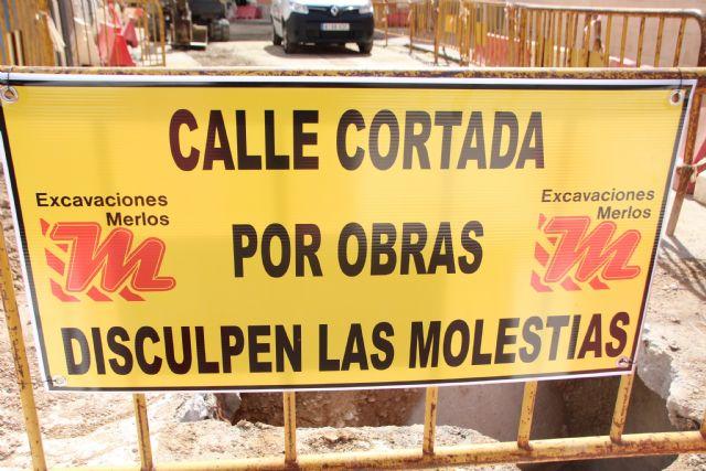 Comienzan las obras de plataforma única en la calle Parricas y renovación de redes de agua y saneamiento en la avenida España, Foto 3