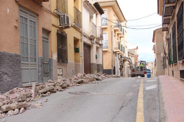 Comienzan las obras de plataforma única en la calle Parricas y renovación de redes de agua y saneamiento en la avenida España, Foto 9
