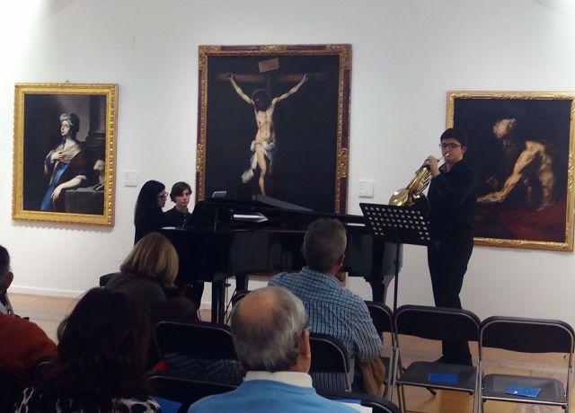Los alumnos del Conservatorio de Música de Murcia ofrecen tres conciertos dentro del ciclo 'Música en los Museos' - 1, Foto 1