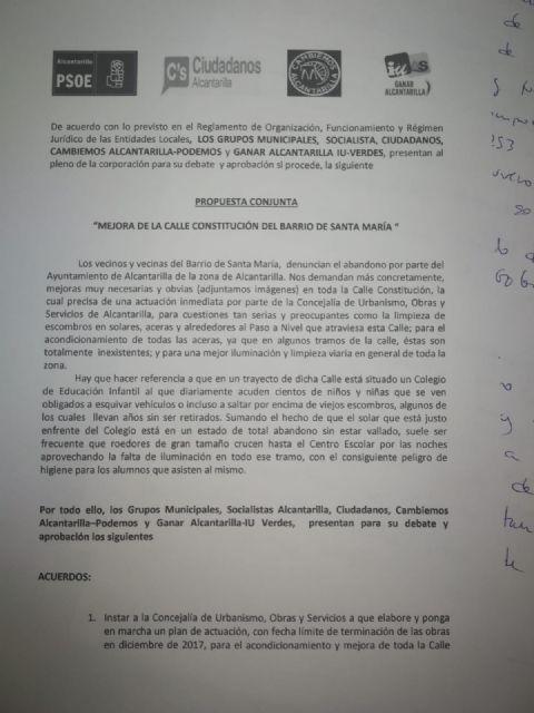 PSOE: El PP de Alcantarilla suma dos años sin ejecutar una moción para mejorar el tránsito por una avenida compartida con Javalí Nuevo - 2, Foto 2