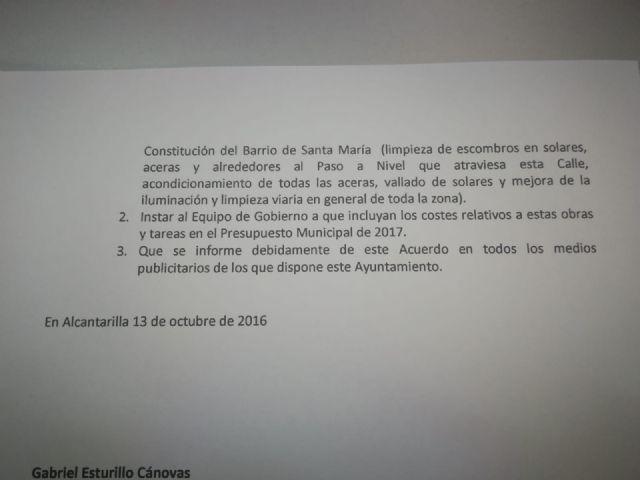 PSOE: El PP de Alcantarilla suma dos años sin ejecutar una moción para mejorar el tránsito por una avenida compartida con Javalí Nuevo - 3, Foto 3