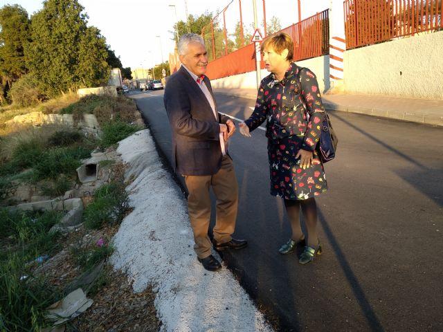 PSOE: El PP de Alcantarilla suma dos años sin ejecutar una moción para mejorar el tránsito por una avenida compartida con Javalí Nuevo - 4, Foto 4