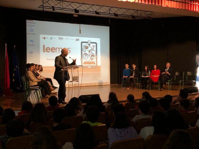 5.000 alumnos murcianos mejorarán su hábito de lectura con leemos - 1, Foto 1