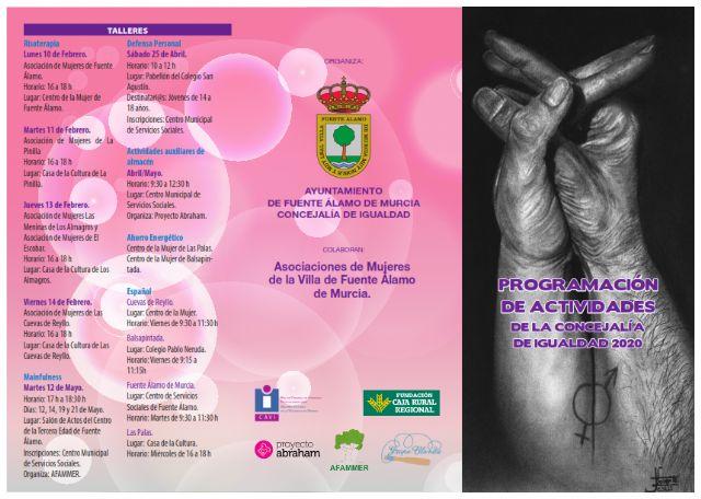 La Concejalía de Igualdad de Fuente Álamo presenta una programación especial para los meses de marzo, abril y mayo - 1, Foto 1