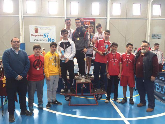 20 centro escolares de la Región compitieron en Mazarrón por ser los líderes del tenis de mesa de Deporte Escolar - 1, Foto 1