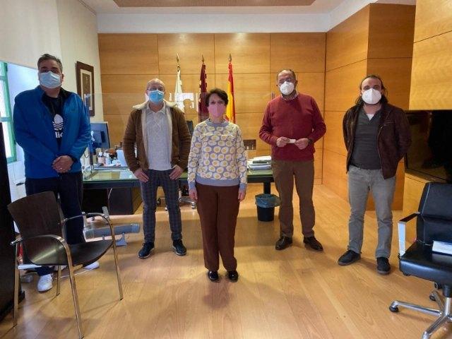 [El alcalde se reúne con representantes de la nueva Federación de Comercio de la Región de Murcia (COREMUR)