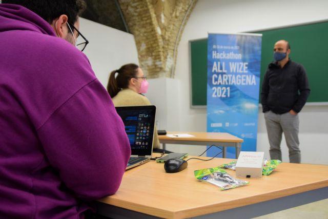Nuevas tecnologías de sensorización para lograr metrópolis sostenibles en el hackathon de la UPCT y Suez - 1, Foto 1