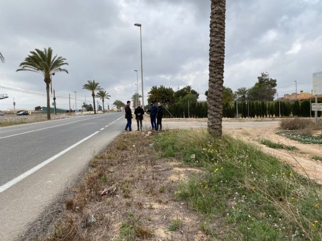 Los Olmos acondiciona sus ramblas y prevé la ampliación del colegio, un carril-bici con Resort Mar Menor y un nuevo jardín en Los López - 1, Foto 1